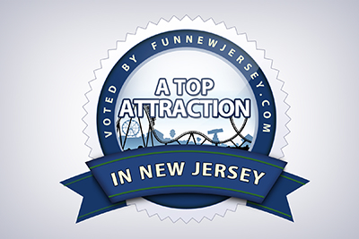 Voted by funnewjersey.com a top attraction in New Jersey